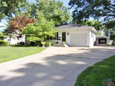 Sedalia Single Family Home Sale Pending/Backups: 1814 E 15th