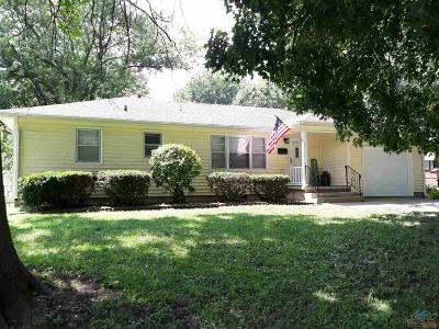 Sedalia Single Family Home Sale Pending/Backups: 1008 S Garfield