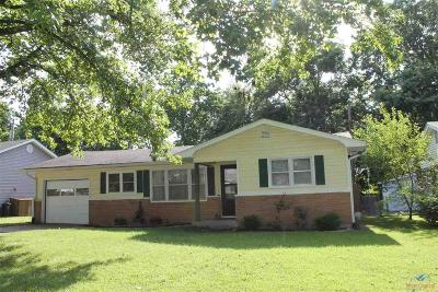 Sedalia Single Family Home Sale Pending/Backups: 1202 Sue Ln