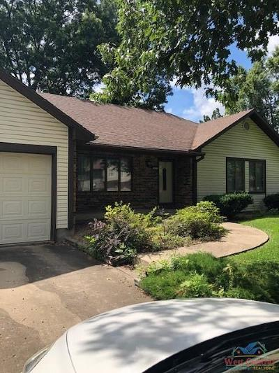 Sedalia Single Family Home Sale Pending/Backups: 2900 Keith Allen Dr