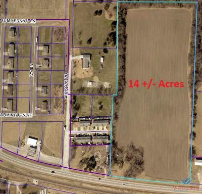 Sedalia MO Residential Lots & Land Sale Pending/Backups: $127,000