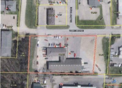 Warsaw Commercial For Sale: 123-127 Tower Dr