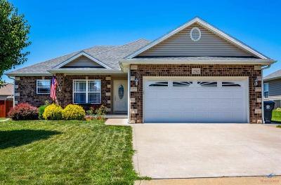 Sedalia Single Family Home Sale Pending/Backups: 2702 Wabash Dr