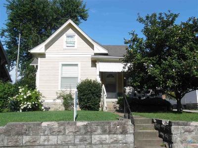 Sedalia Single Family Home Sale Pending/Backups: 1424 S Carr