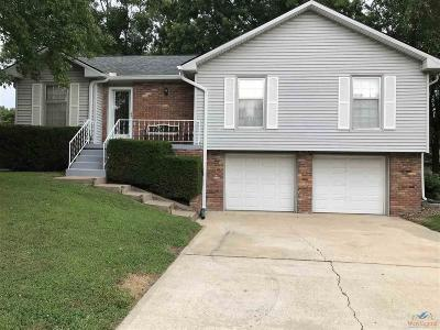 Henry County Single Family Home Sale Pending/Backups: 1703 Strawberry Lane