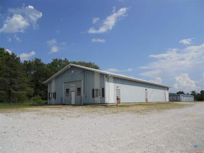 Clinton Commercial For Sale: 586 E Hwy 7