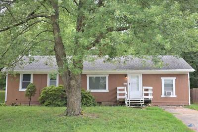 Johnson County Single Family Home For Sale: 406 Anderson