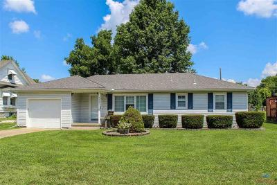 Sedalia Single Family Home Sale Pending/Backups: 2307 E 12th