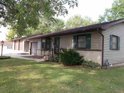 Sedalia MO Single Family Home For Sale: $147,500