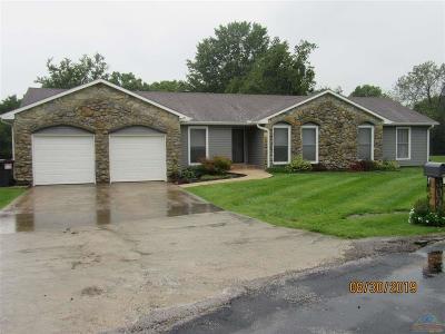 Sedalia Single Family Home For Sale: 5035 Dogwood Circle