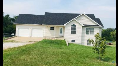 Warsaw Single Family Home For Sale: 25674/25670 Hwy T