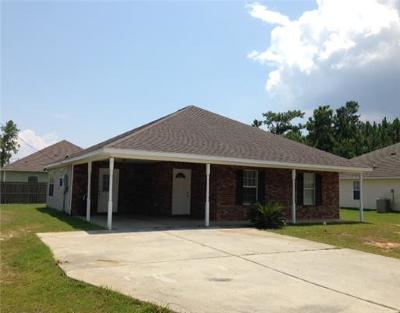 Waveland Single Family Home For Sale: 217 Hibiscus St