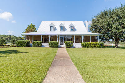 Gulfport Single Family Home For Sale: 13893 Gulf Haven Rd