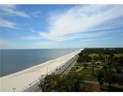 Gulfport Condo/Townhouse For Sale: 2228 Beach Dr #1306