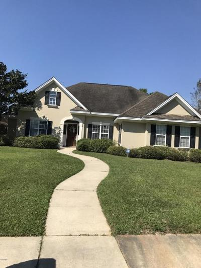 Gulfport Single Family Home For Sale: 11461 Stanton