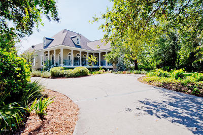 Gulfport Single Family Home For Sale: 53 Shoreline Ln