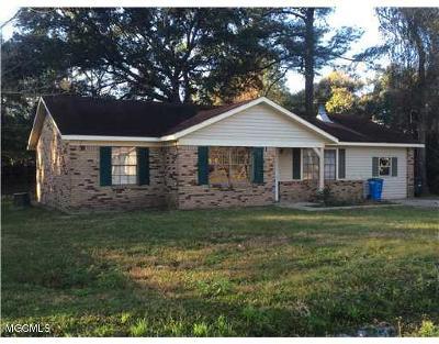 Ocean Springs Single Family Home For Sale: 9209 Warbler Ave