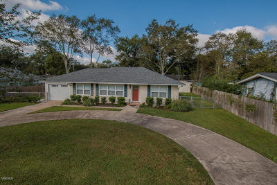 Gulfport MS Single Family Home Sold: $169,500