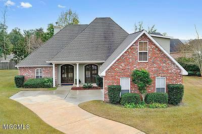 Biloxi Single Family Home For Sale: 734 Buddelia Cv