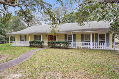Pass Christian Single Family Home For Sale: 22424 Glad Acres Rd