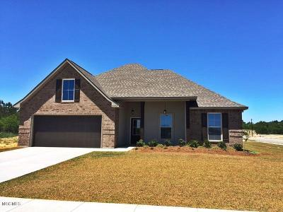 Gulfport Single Family Home For Sale: 16243 Tougaloo Ln