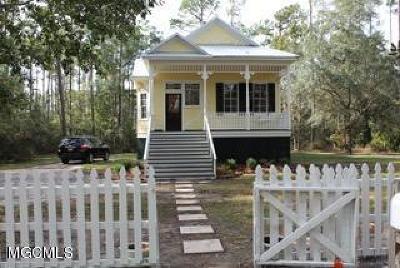 Pass Christian Single Family Home For Sale: 3485 W James Cir