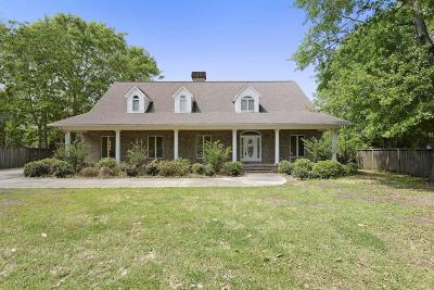 Gulfport Single Family Home For Sale: 1415 Mill Rd