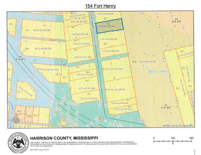 Pass Christian Residential Lots & Land For Sale: 154 Fort Henry Ave