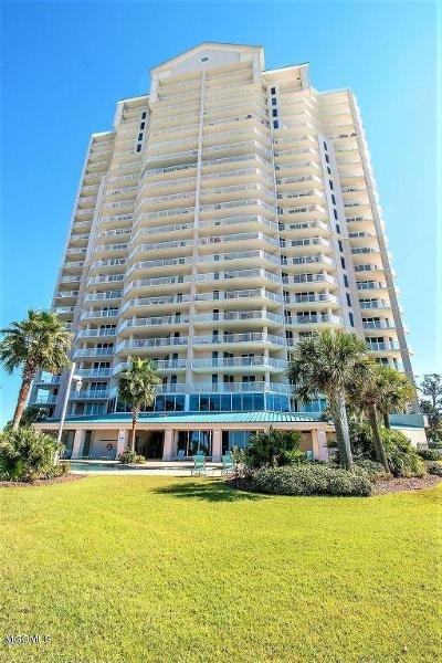 Biloxi Condo/Townhouse For Sale: 2668 Beach Blvd #1902