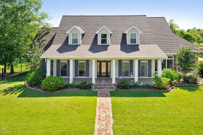 Waveland Single Family Home For Sale: 111 Seabrook Dr