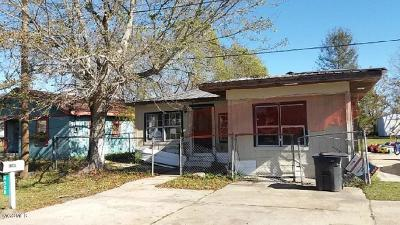 Gulfport Single Family Home For Sale: 4508 Ohio Ave
