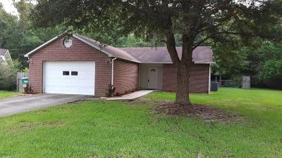 Biloxi Single Family Home For Sale: 11350 Fenton Dr