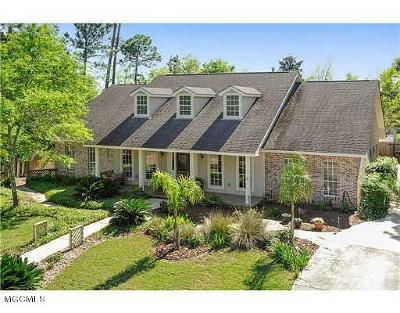 Waveland Single Family Home For Sale: 117 Seabrook Dr
