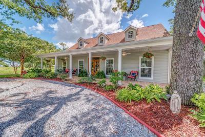 Waveland Single Family Home For Sale: 112 Bienville Dr