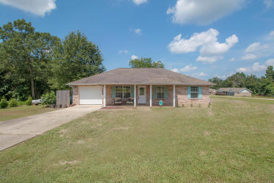Saucier MS Single Family Home For Sale: $143,900