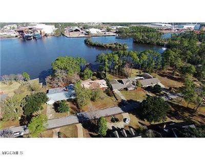 Gulfport Single Family Home For Sale: 140 Bayou Cir