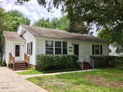 Gulfport Single Family Home For Sale: 3711 Washington Ave