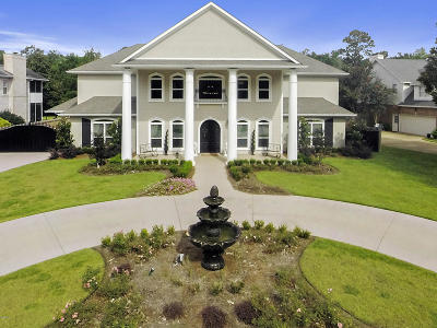 Ocean Springs Single Family Home For Sale: 3619 Perryman Rd