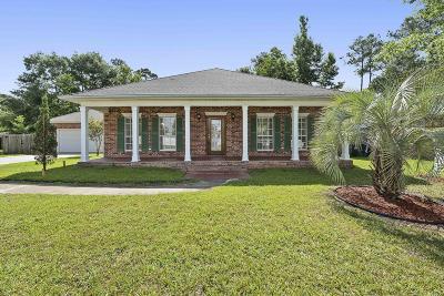 Diamondhead Single Family Home For Sale: 72695 N Diamondhead Dr