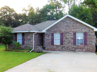 Bay St. Louis Single Family Home For Sale: 6050 E Clay St