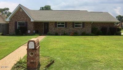 Biloxi Single Family Home For Sale: 677 Mulberry Dr