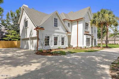 Biloxi Single Family Home For Sale: 2026 Bent Oaks Blvd