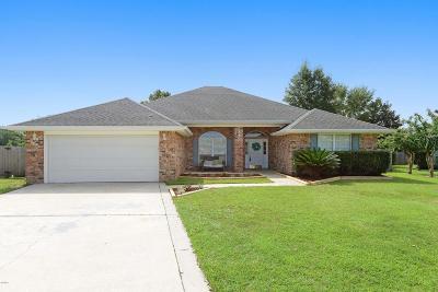 Biloxi Single Family Home For Sale: 15096 Woodwind Cv