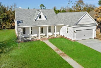Long Beach Single Family Home For Sale: 127 Sea Oaks Blvd