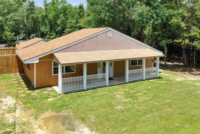 Diamondhead Single Family Home For Sale: 97169 Kapalama Dr