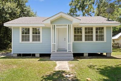 Waveland Single Family Home For Sale: 834 Longo St