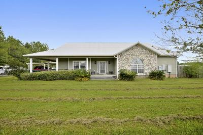 Ocean Springs Single Family Home For Sale: 15048 Dantzler Rd