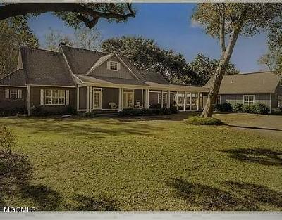 Biloxi Single Family Home For Sale: 9115 Woolmarket Rd