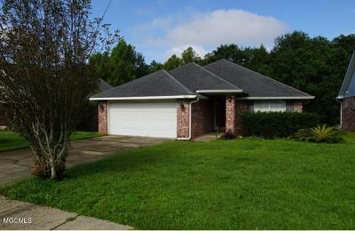 Biloxi Single Family Home For Sale: 15041 Cedar Springs Dr