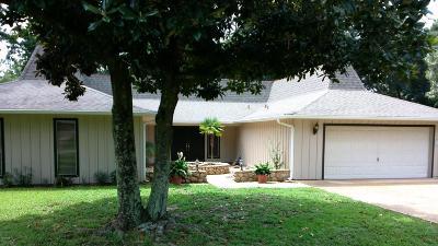 Diamondhead Single Family Home For Sale: 6647 Golf Club Dr